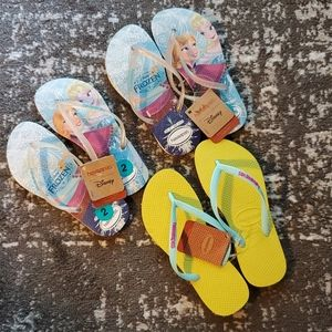 NWT Lot of 3 pairs of Havaianas